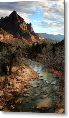 The Watchman At Sunset Metal Print by Eric Foltz