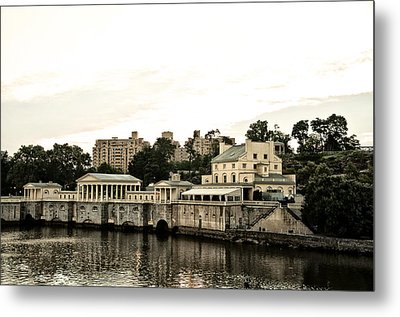 The Waterworks Metal Print by Bill Cannon