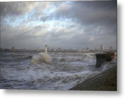 The Wild Mersey 2 Metal Print by Spikey Mouse Photography