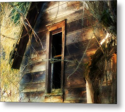 The Window2 Metal Print by Loni Collins
