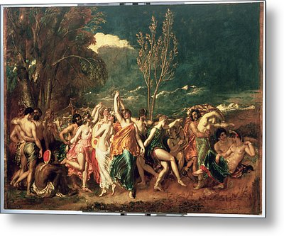 The World Before The Flood Metal Print by William Etty