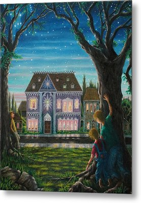 There Is A House In New Orleans Metal Print by Matt Konar