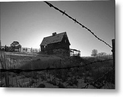 Metal Print featuring the photograph This Old Barn by Eric Rundle
