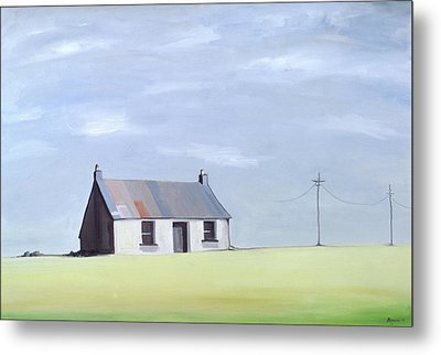 This Old House Metal Print by Ana Bianchi