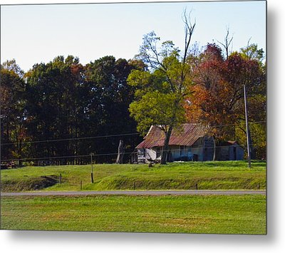 Metal Print featuring the photograph This Old House by Nick Kirby