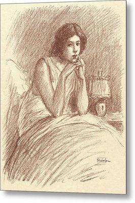 Théophile Alexandre Steinlen Swiss, 1859 - 1923. Morning Metal Print