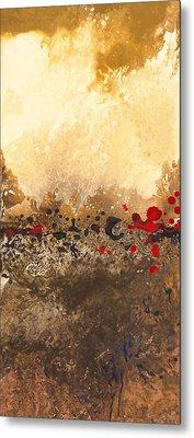 Tidal Sunrise Panel 1 Metal Print