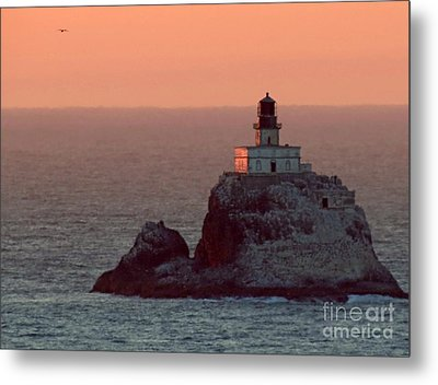 Tillamook Rock Lighthouse Metal Print by Chris Anderson