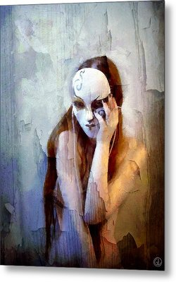 To Show The Body But Hide The Face Metal Print