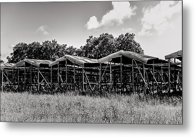 Tobacco House Metal Print
