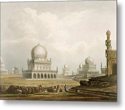 Tombs Of The Kings Of Golconda In 1813 Metal Print