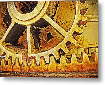 Tooth Decay Metal Print by Tony Crehan