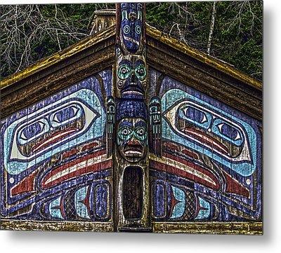 Totem Bite State Park 01 Metal Print by Timothy Latta
