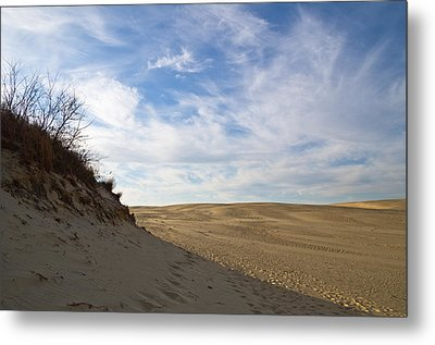 Metal Print featuring the photograph Tracks In The Sand Trail by Gregg Southard
