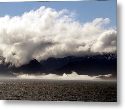 Metal Print featuring the photograph Tracy Arm Fjord by Jennifer Wheatley Wolf