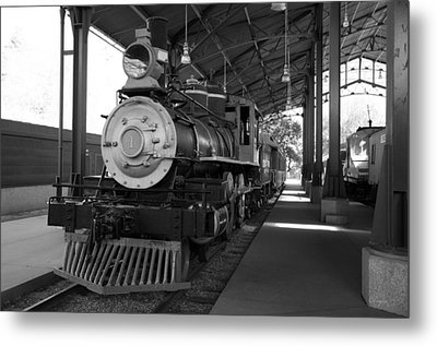 Metal Print featuring the photograph Train by Gandz Photography