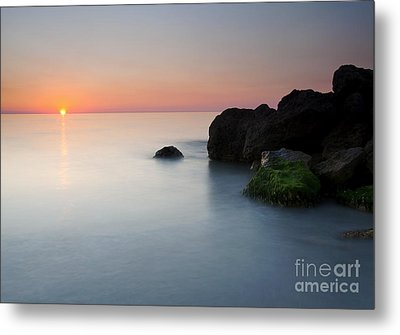 Tranquil Sunset Metal Print by Mike  Dawson