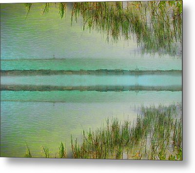 Tranquility Bay Metal Print by Wendy J St Christopher