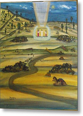 Transfiguration Of Jesus Metal Print by Larry Farris