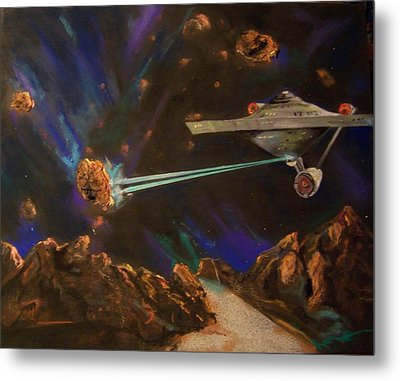 Trek Adventure Metal Print by Peter Suhocke