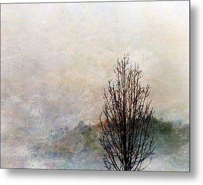 Tree Impression Metal Print by Bruce Rolff