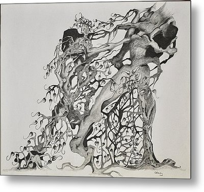 Tree People Metal Print by Glenn Calloway