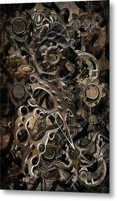 Metal Print featuring the digital art Trip 10 by Andy Walsh