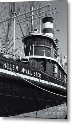 Tugboat Helen Mcallister II Metal Print by Clarence Holmes