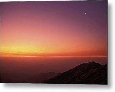 Twilight At Las Campanas Observatory Metal Print