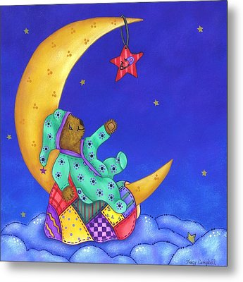 Twinkle Little Star Metal Print by Tracy Campbell