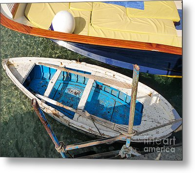 Metal Print featuring the photograph Two Boats by Mike Ste Marie