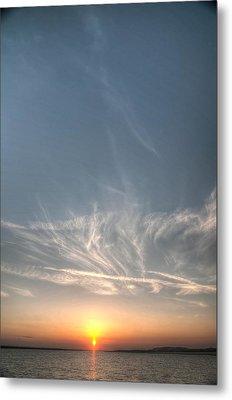 Tybee Sunset 2 Metal Print by Dem Wolfe