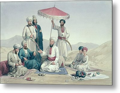 Umeer Dost Mohammed Khan Metal Print by Louis Hague