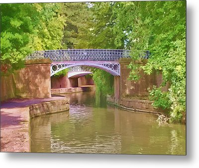 Under The Bridges Metal Print by Paul Gulliver