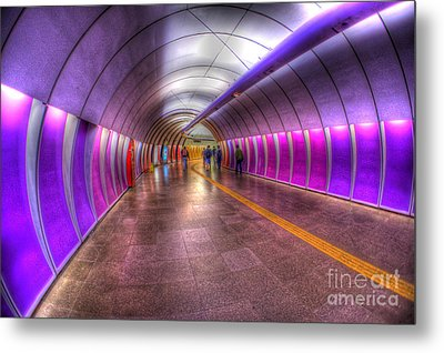 Underground Colors Metal Print by Will Cardoso