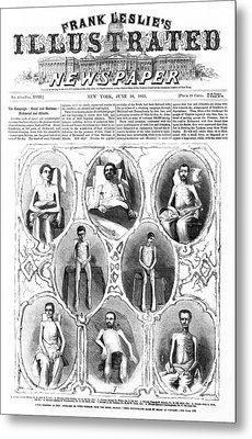 Union Soldiers Released  June 1864 Metal Print by Daniel Hagerman