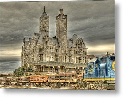 Union Station Metal Print by Brett Engle