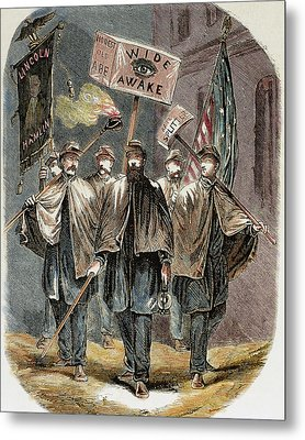 United States Supporters Of Abraham Metal Print by Prisma Archivo