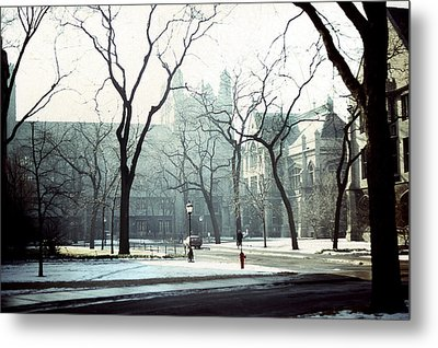 University Of Chicago 1976 Metal Print by Joseph Duba