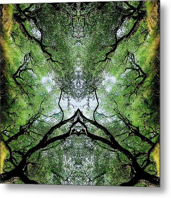 Unnatural 75 Metal Print by Giovanni Cafagna