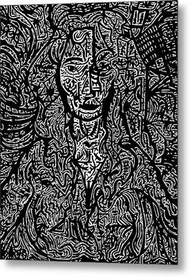 Untitled #3 Metal Print by Urban Hippie Brownie Cat