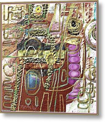 Untitled 421 Metal Print by Nedunseralathan R