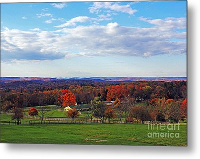 Upstate Metal Print by Alison Tomich