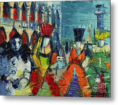 Urban Story - The Carnival Metal Print