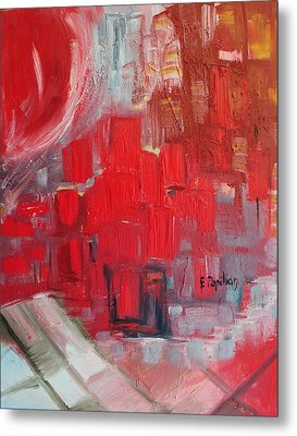 Urban View Metal Print by Evelina Popilian