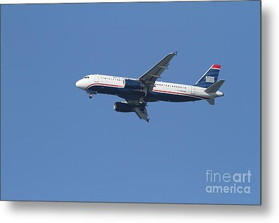 Us Airways Jet 7d21945 Metal Print by Wingsdomain Art and Photography