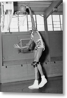 Usf Star Bill Russell Metal Print by Underwood Archives