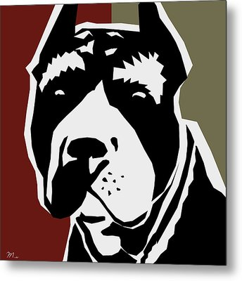 Vector Pit  Metal Print by Mark Ashkenazi