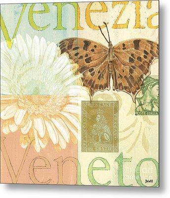 Venezia Metal Print by Debbie DeWitt