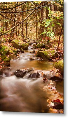 Metal Print featuring the photograph Vermont Stream by Jeff Folger